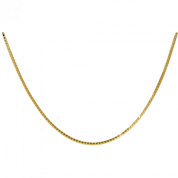 "14 K Gold Filled 24"" Box Chain with Clasp"