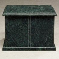 Green Rectangle Evermore Companion Urn 420 Cu In