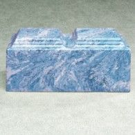 Majesty Blue Marble Companion Cremation Urn 410 Cubic Inches