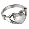 Cremation Jewelry Heart Ring