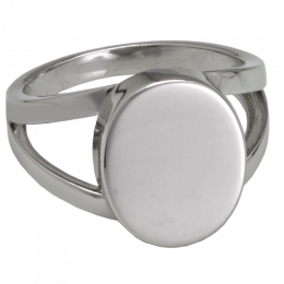 V Ring Cremation Jewelry Ring