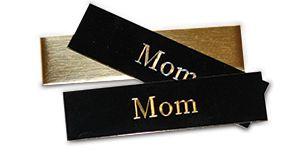 Engravable Metal Plates In Three Color Choices