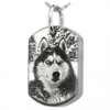 Dog Tag Jewelry with 3 D Pet Photo