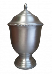 Aegis Hand-Spun Pewter 401 Small Pet Urn 123 Cu In