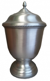Aegis Hand-Spun Pewter 402 Large Pet Urn 205 Cu In