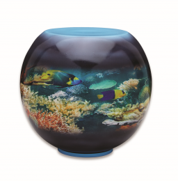 Fishbowl 250 cu.in L. Adult Funeral Urn