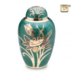 Emerald Rose Adult Cremation Urn 200 cu.in.