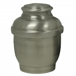 Calypso Hand-Spun Pewter 599 Small Pet Urn 20 Cu In