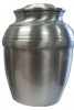 Pewter 601 Plain Urn