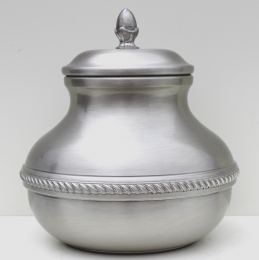 Odyssey Pewter Urn - Plain People/Pet 70 Cu In