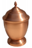 Copper Hand-Spun Pet/People  Urn 123 Cu In