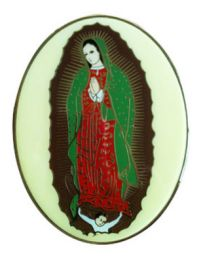 Cloisonne Lady of Guadalupe Applique