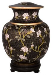 Minuet Adult Cloisonne Cremation Urn 210 Cu. In.