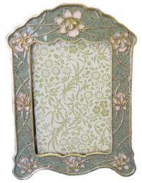 Pear Blossom Matching Frame to Urn