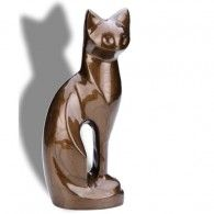 Cats Urn  Bronze  16.5 Cu. In.