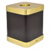 Expresso Brass Square Cremation Urn