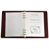Funeral Guest Book Wooden Binder With Family Photo Option