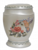 .Humming Bird Resin Adult  Cremation Urn