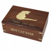 Perfect Wooden Box Cat Urn Large 87 Cu.In.