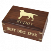 Perfect Wooden Box Dog Urn Large 87 Cu.In.