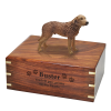 Dog Cremation Wooden Urn Chesapeake Bay Retriever  4 Sizes