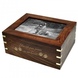 Perfect Wood Box With Photo Frame, Large