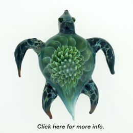 Sea Turtle Paper Weight Urn