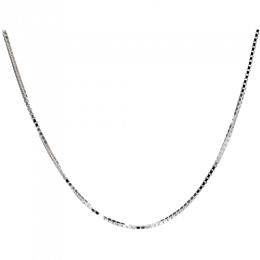 Sterling Silver Box Chain 24""