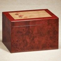 Burl Maple Memory Box/Urn
