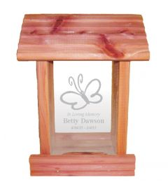 Butterfly Bird Feeder Memorial Gift