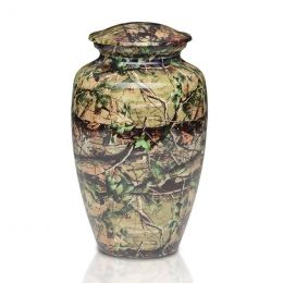 Camouflage Metal Cremation Urn 200 Cu. In.