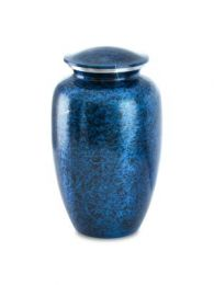 Cerulean Marble Cremation Urn Large Adult 228. Cu. In.