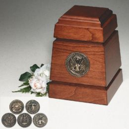 The  Monticello Military Cremation Urn  200 cu.in.