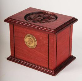 The  Patriot Military Cremation Urn  225 cu. in.