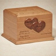 Together Forever Companion Urn  450 Cubic Inches