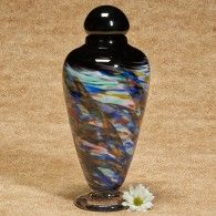 Yukon Series Hand-Blown Glass Cremation Urn Large Adult 259.00